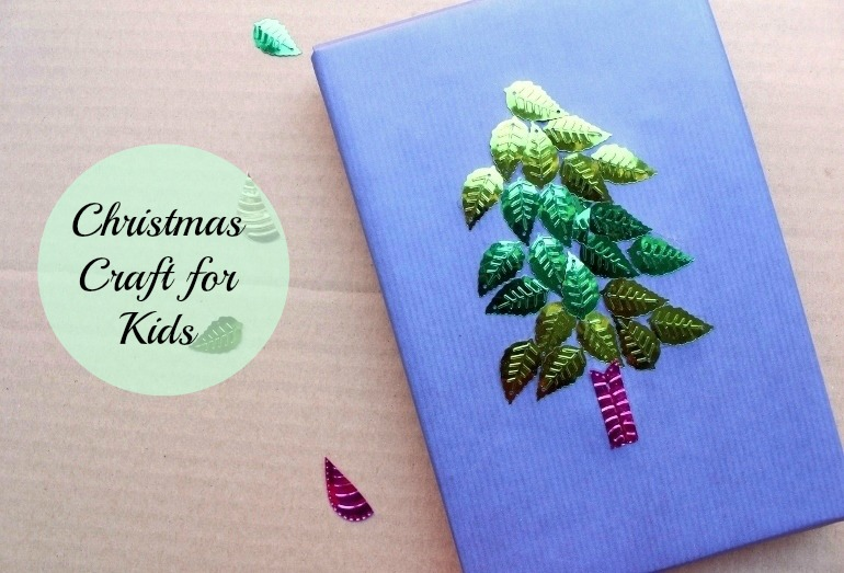 Christmas Craft Ideas Gift Wrap Kids Can Make Post Image 1
