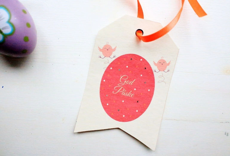 Diy easter gift tags negle