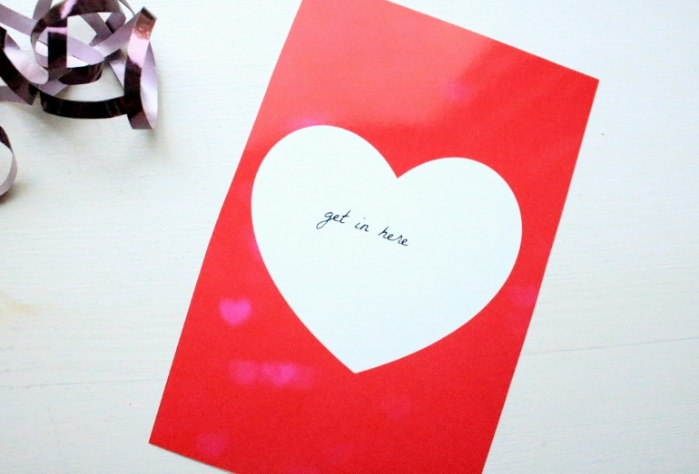 Printable Valentines Day Cards 3 nonmushy ways to say I love you – Mushy Valentine Cards