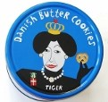 Danish butter cookies are ideal for gifts image