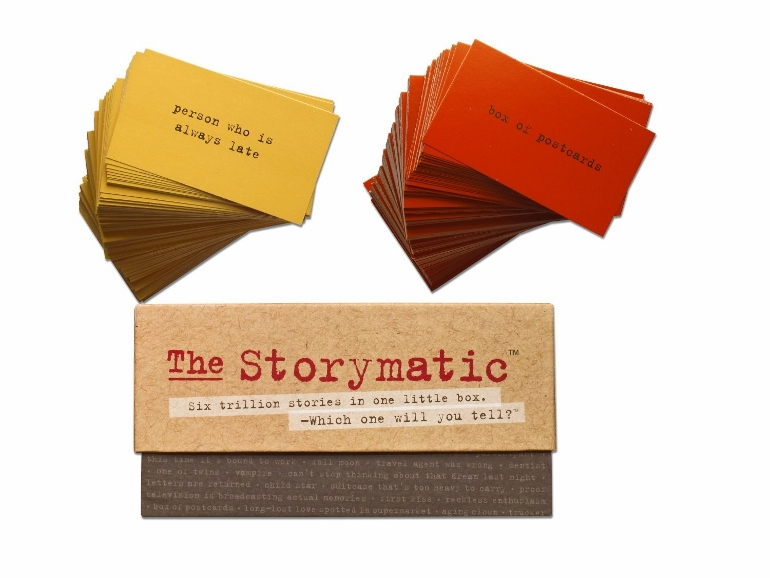 Book lovers can create their own stories with the Storymatic