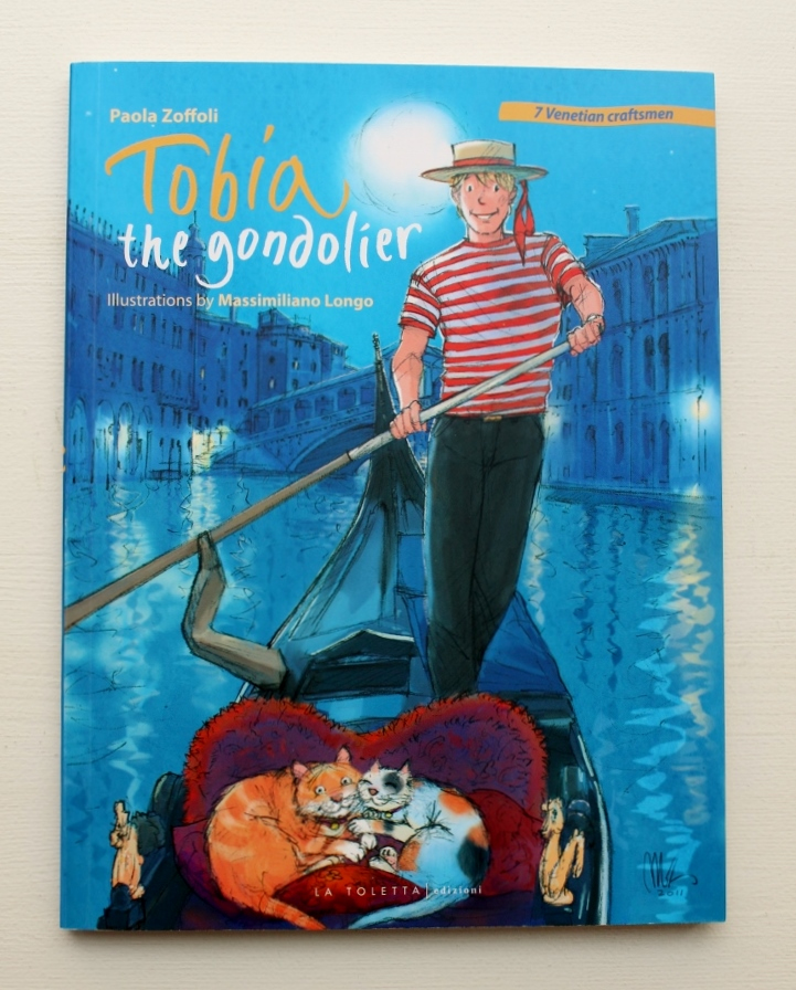 As part of your Italy shopping, get this Italian book for children from Venice