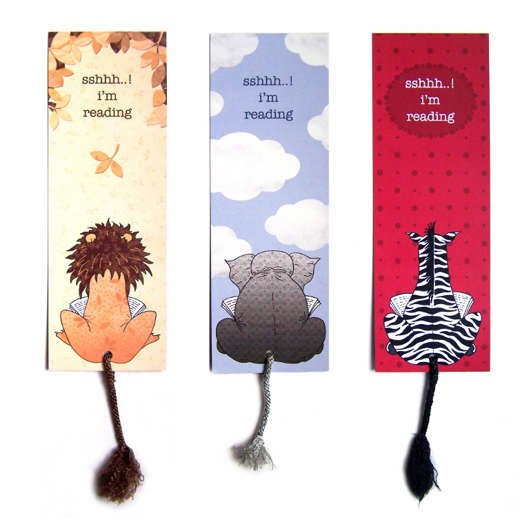 Bookmarks are very useful presents for book lovers