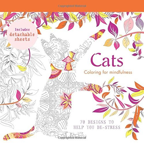 Adult Colouring Sheets For Cat Lovers