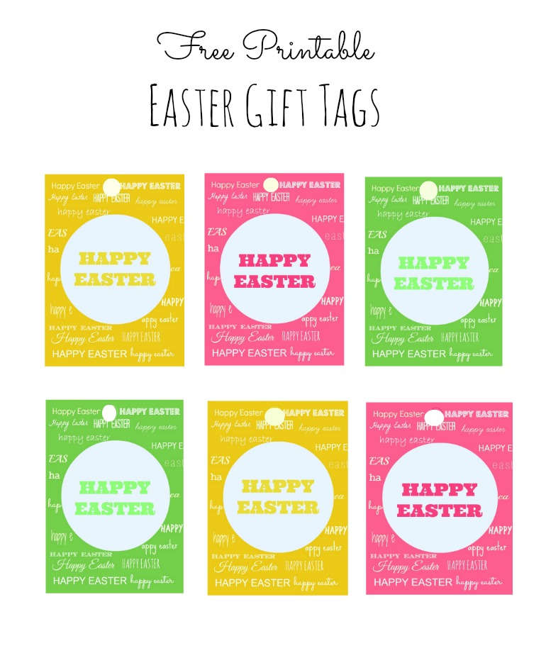 This Gift Tag Template For Good Easter Ideas