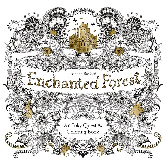 Coming Up At 1 Is British Artist Johanna Basfords Enchanted Forest Her First Book Secret Garden Has Sold Over 15 Million Copies