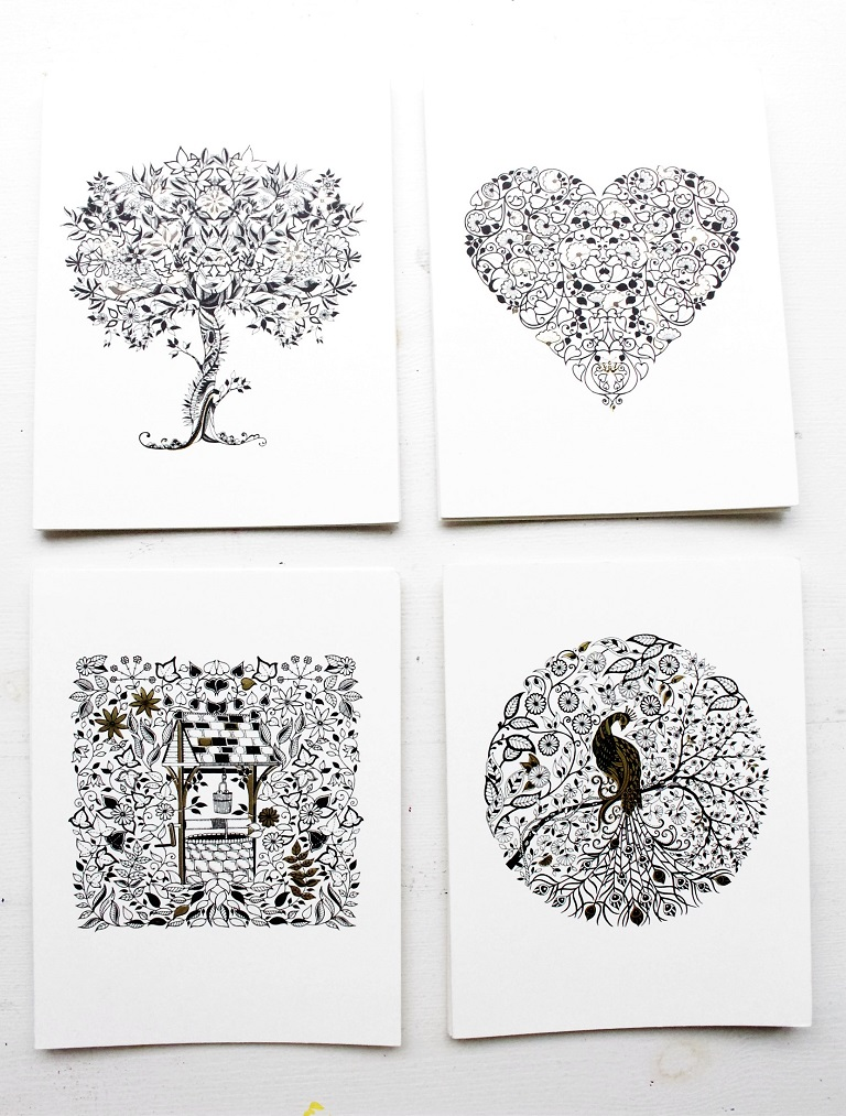 Adult Colouring Books And Cards By Johanna Basford