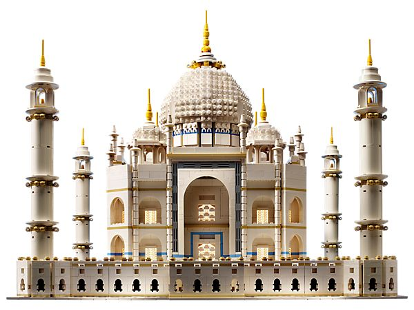Lego Taj Mahal for architects an builders