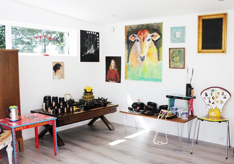 Ma'Mela, a quirky gift shop in Denmark offering handcrafted products from Africa, India and Denmark.