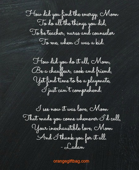 moms will love this mothers day poem
