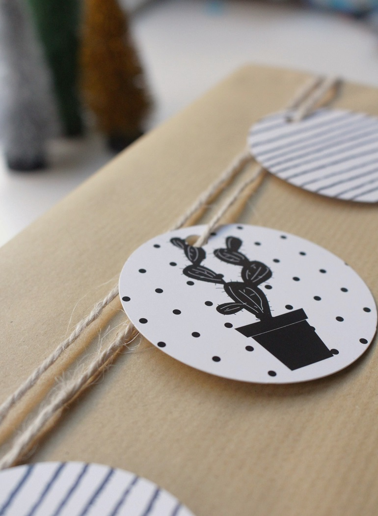 5 creative ways to gift wrap brown paper packages