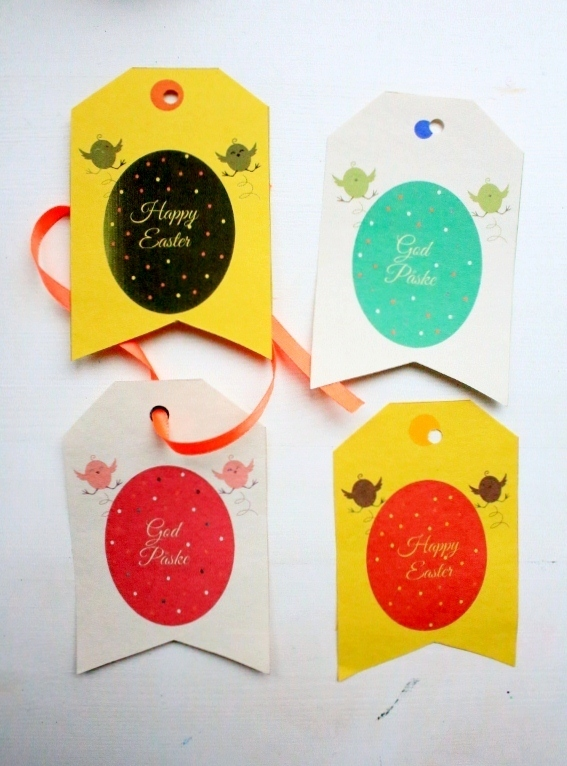 Diy easter gift tags this diy easter gift tag is simple and quick a good easter craft for kids negle Gallery