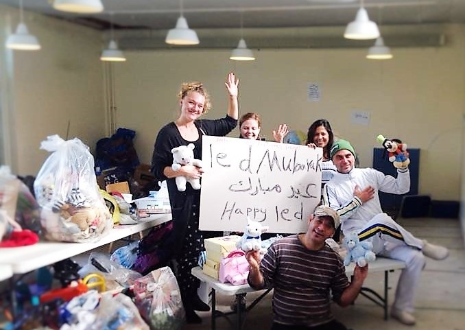 Donating things is just one of the way to help refugees