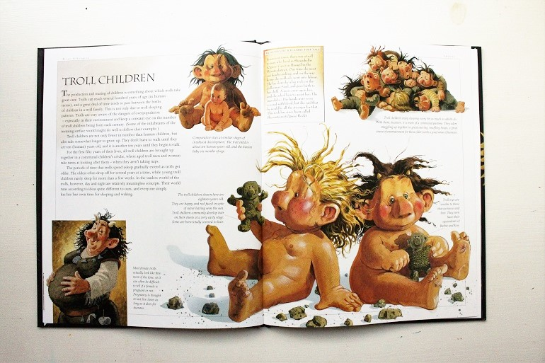 trolls are part of Icelandic folklore and  this book is a fun gift for children