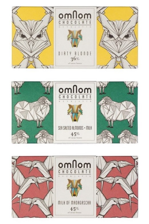 OmNom, a hand crafted Icelandic chocolate, is a good gift to take home for friends and family