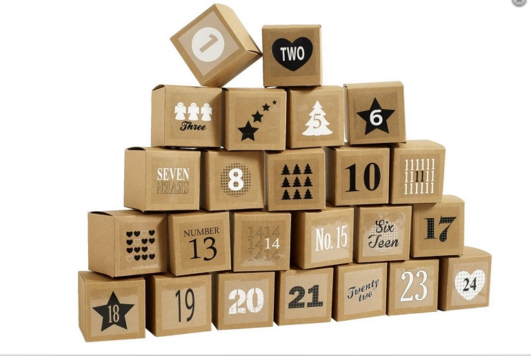 fun ideas for an advent calendar