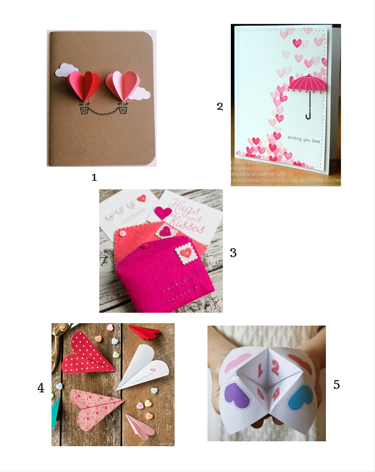 easy Valentine's Day crafts to try with your kids.